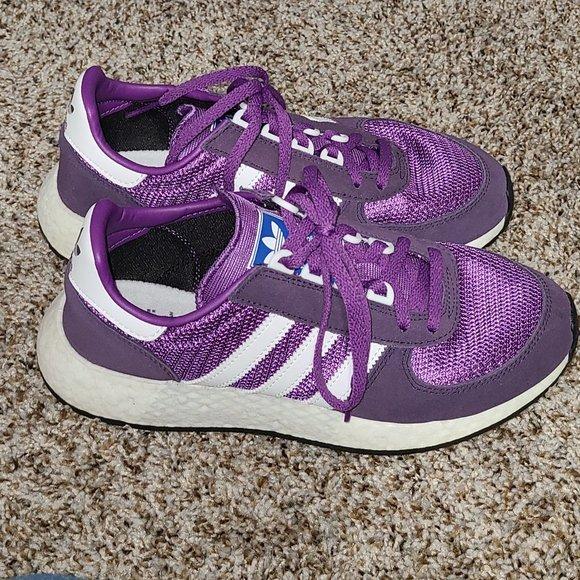 adidas marathon tech purple